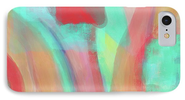 IPhone Case featuring the digital art Sweet Little Abstract by Susan Stone