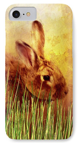 Sweet Little Bunny Face IPhone Case