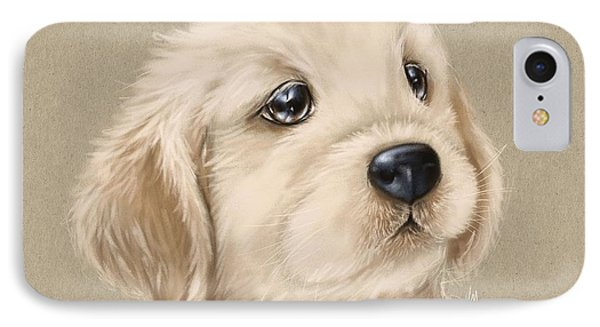 Sweet Little Dog IPhone Case by Veronica Minozzi