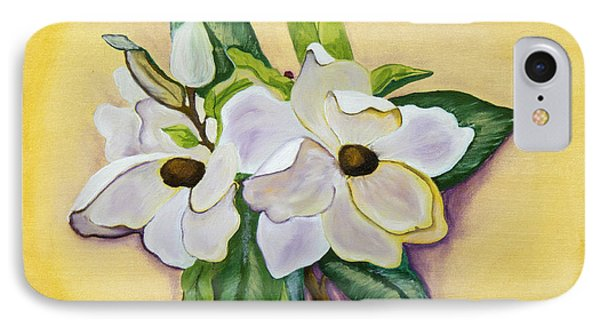 Sweet Magnolias Phone Case by Christie Nicklay