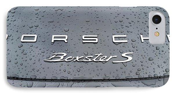 Rain Drops On A Porsche Boxster S IPhone Case