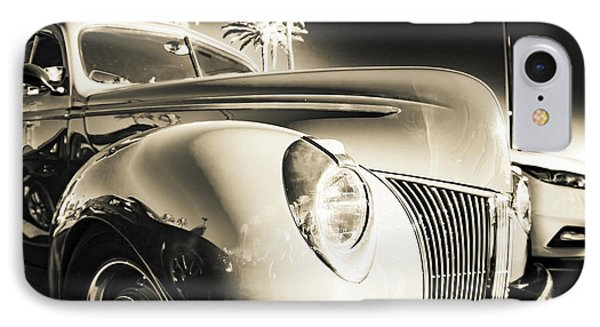 Sweet Sepia IPhone Case by Mark David Gerson