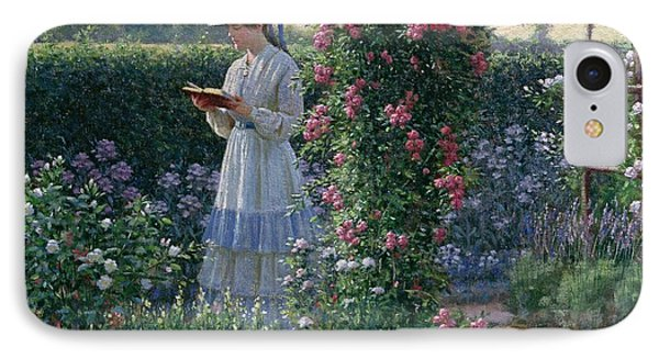 Sweet Solitude IPhone Case by Edmund Blair Leighton