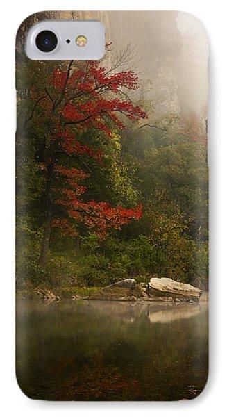 Sweetgum In The Mist At Steel Creek IPhone Case