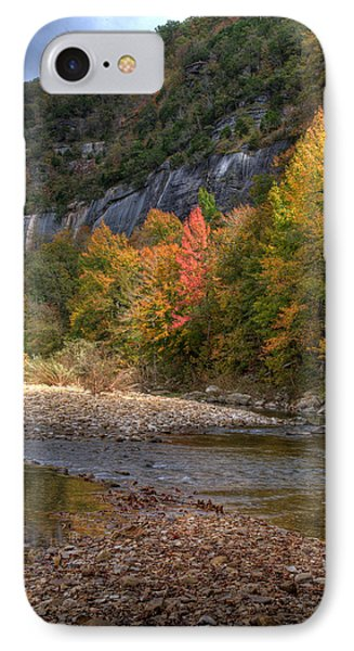 IPhone Case featuring the photograph Sweetgums At Steel Creek  by Michael Dougherty