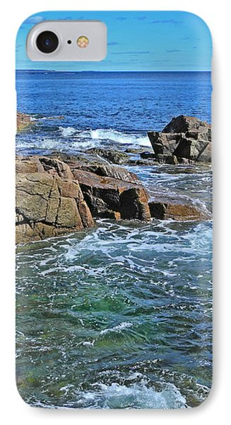 IPhone Case featuring the photograph Swept By The Tide by Lynda Lehmann