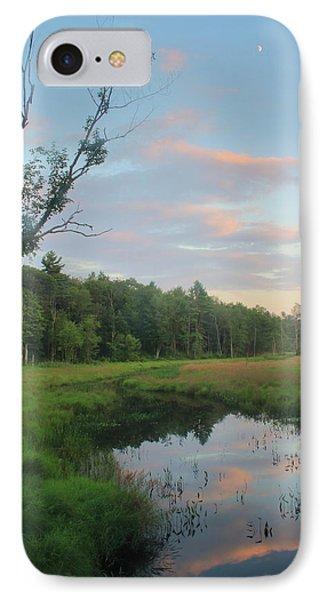Swift River Sunset IPhone Case by John Burk