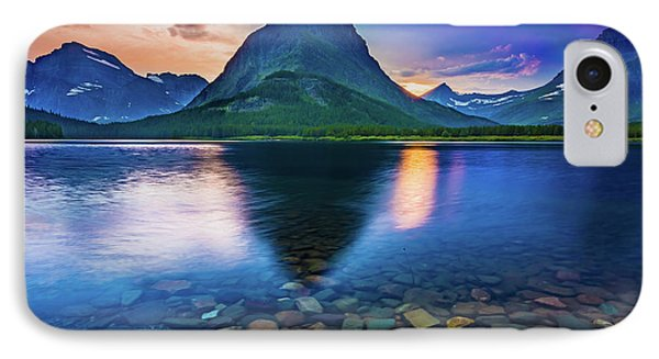 Swiftcurrent Twilight IPhone Case by Inge Johnsson