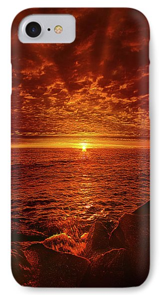 IPhone Case featuring the photograph Swiftly Flow The Days by Phil Koch