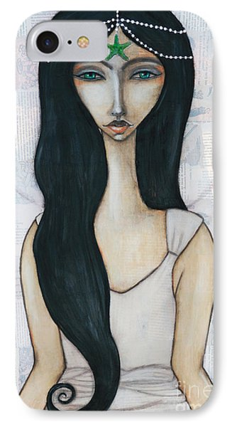 IPhone Case featuring the painting Swim With Me by Natalie Briney