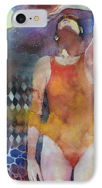 Swimmer IPhone Case by Alessandro Andreuccetti