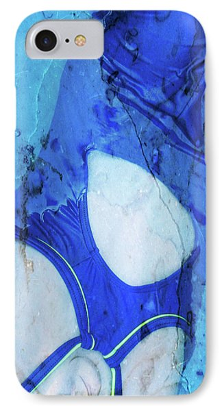 Swimmer In Stone IPhone Case