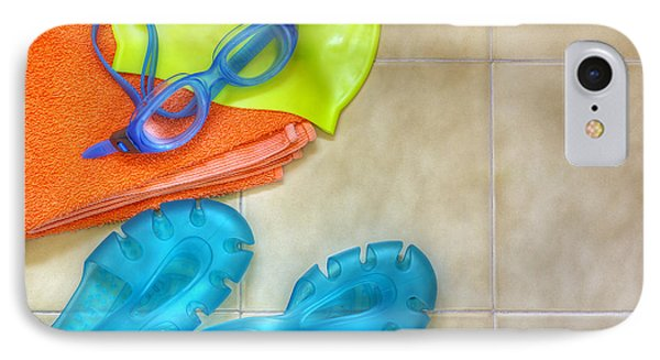 Swimming Gear IPhone Case by Carlos Caetano