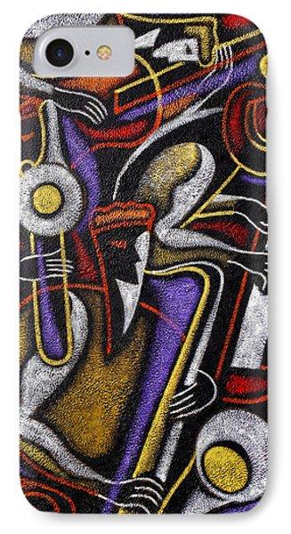Swing Jazz  IPhone Case by Leon Zernitsky