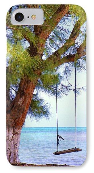 Swing Me... Phone Case by Karen Wiles