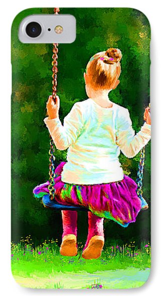 Swing Time IPhone Case by Tim Tompkins