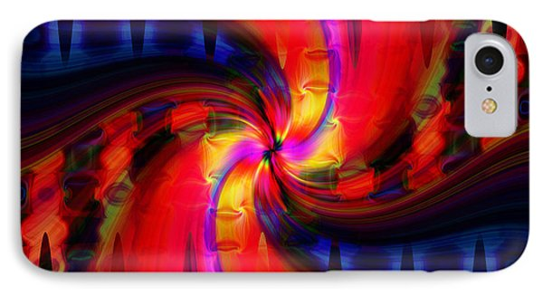 IPhone Case featuring the photograph Swirl Delight by Cherie Duran
