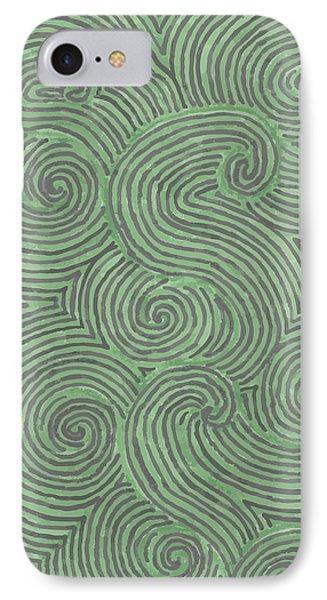 Swirl Power IPhone Case by Jill Lenzmeier