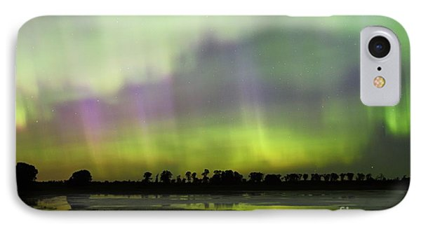 IPhone Case featuring the photograph Swirling Curtains 2 by Larry Ricker