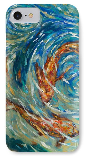 Swirling Waters IPhone Case