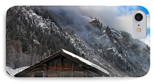 Swiss Barn IPhone Case by Neil Shapiro