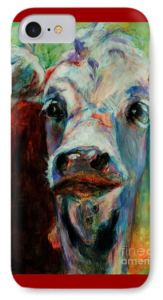 Swiss Cow - 1 IPhone Case by David  Van Hulst