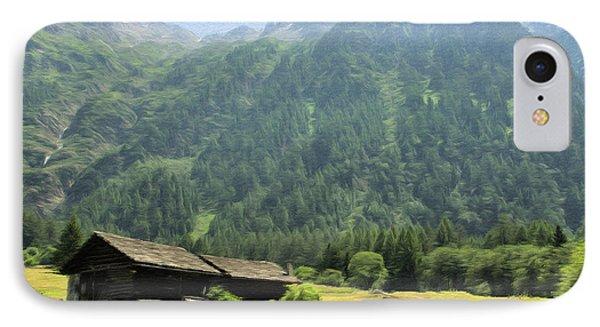 Swiss Mountain Home Phone Case by Jeffrey Kolker