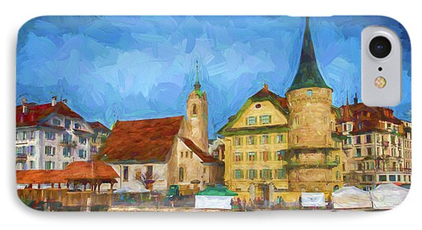 Swiss Town IPhone Case
