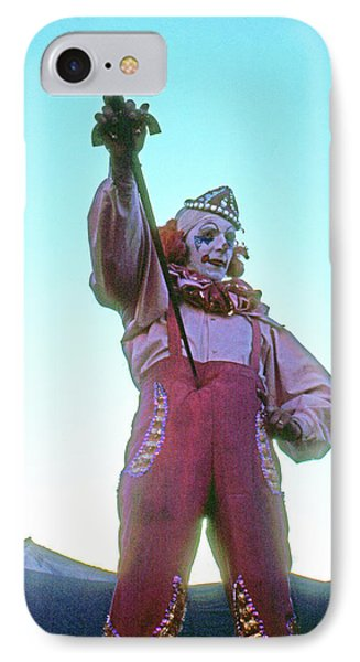 IPhone Case featuring the photograph Sword Swallower by Laurie Stewart