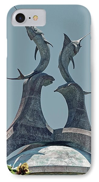 Swordfish Sculpture Phone Case by DigiArt Diaries by Vicky B Fuller
