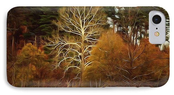 Sycamore And Pines IPhone Case