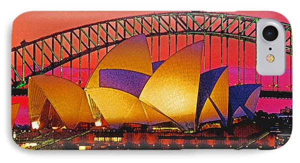 Sydney Architecture Phone Case by Dennis Cox WorldViews
