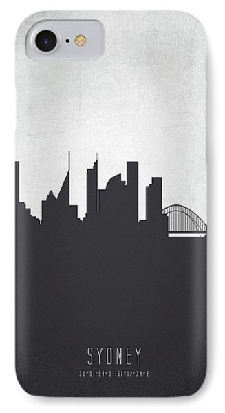 Sydney Australia Cityscape 19 IPhone 7 Case by Aged Pixel