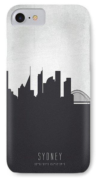 Sydney Australia Cityscape 19 IPhone Case by Aged Pixel