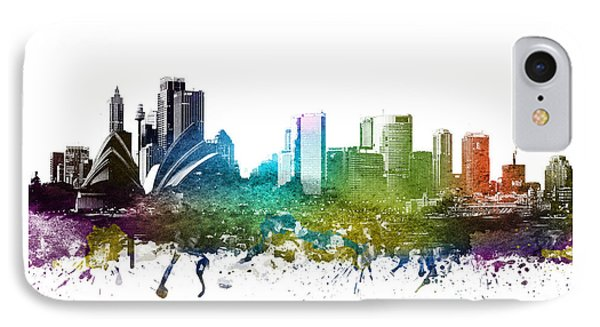 Sydney Cityscape 01 IPhone 7 Case