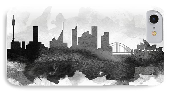 Sydney Cityscape 11 IPhone Case by Aged Pixel
