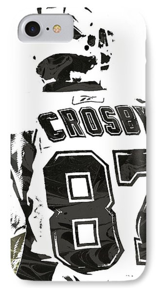 Sydney Crosby Pittsburgh Penguins Pixel Art 2 IPhone Case