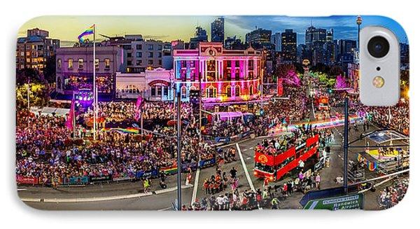 Sydney Gay And Lesbian Mardi Gras Parade IPhone Case