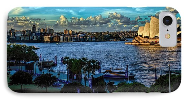 Sydney Harbor And Opera House IPhone Case
