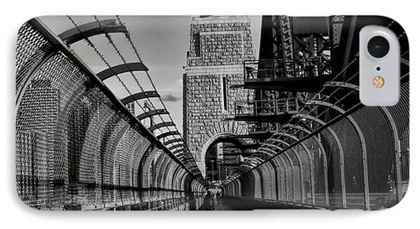 Sydney Harbor Bridge Bw IPhone Case