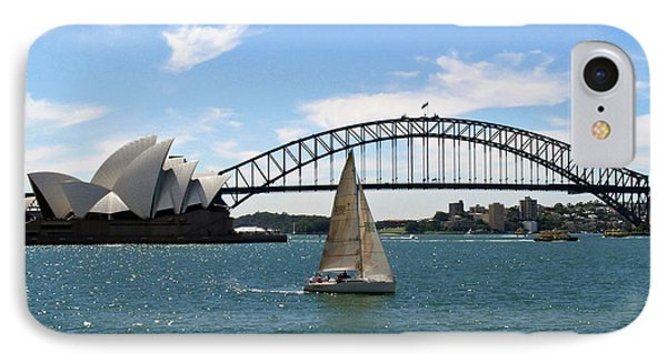 Sydney Harbour No. 1 IPhone 7 Case by Sandy Taylor