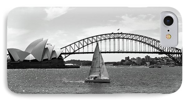 Sydney Harbour No. 1-1 IPhone Case by Sandy Taylor