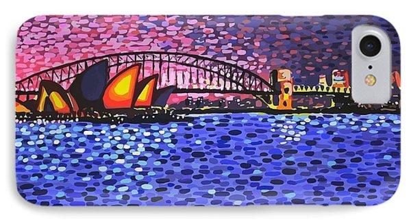 Sydney Harbour Phone Case by Alan Hogan