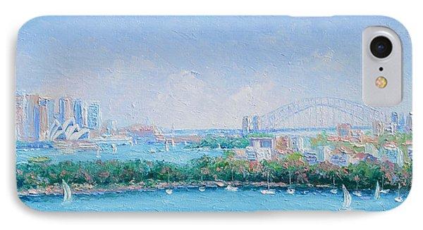 Sydney Harbour Bridge - Sydney Opera House - Sydney Harbour Phone Case by Jan Matson