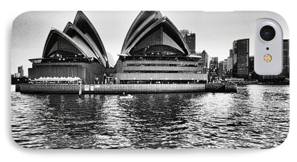 Sydney Opera House-black And White IPhone Case