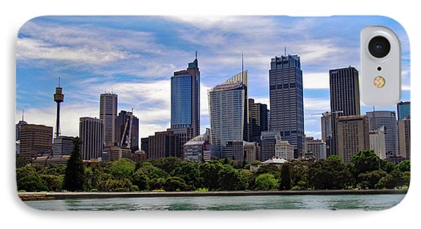 Sydney Skyline No. 1 IPhone Case by Sandy Taylor
