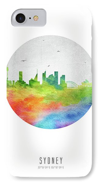 Sydney Skyline Ausy20 IPhone Case by Aged Pixel