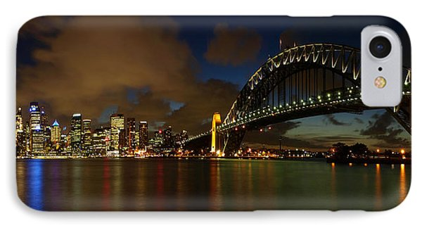 Sydney Skyline Phone Case by Melanie Viola