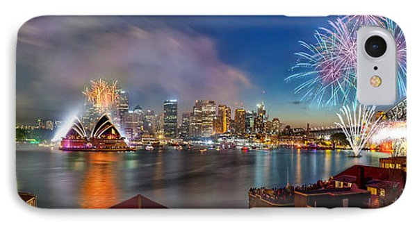 Sydney Sparkles IPhone 7 Case by Az Jackson