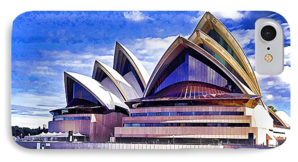 Sydney Symbol Phone Case by Dennis Cox WorldViews